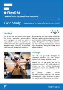 AUA - Case Study